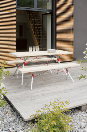 Kampenwand outdoor table