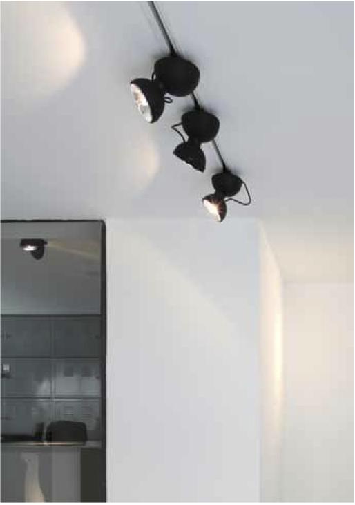 Lampe Azimut monoprotrack 360 - Lampe Spot - Christian Girard