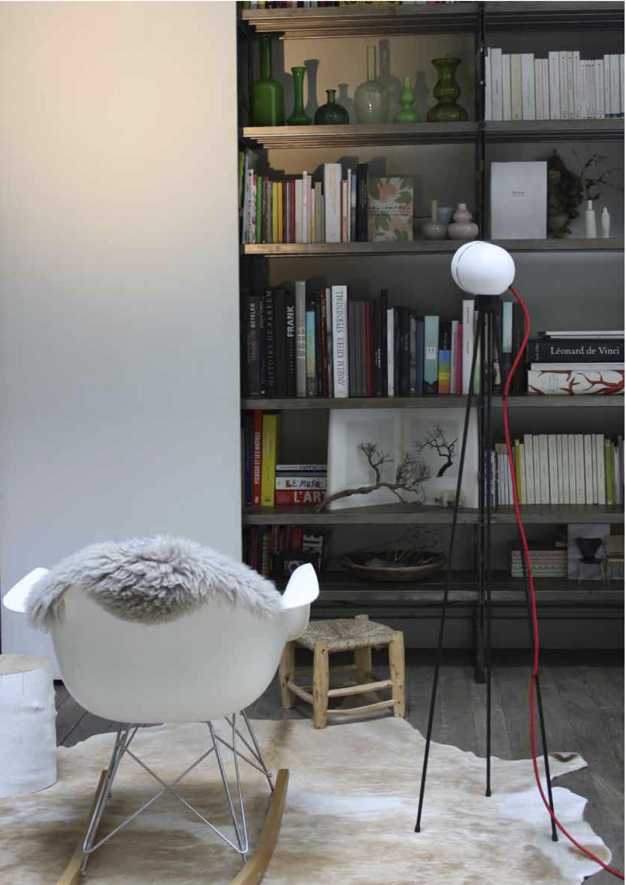 Lampe Azimut tripod touch - Lampe sur pied - Christian Girard
