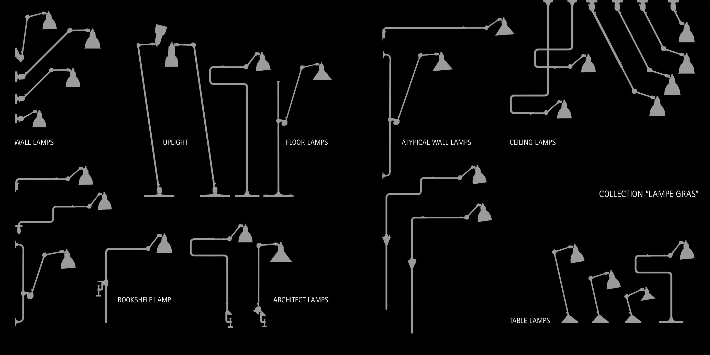 Lampe Gras - DCW - Bernard-Albin Gras