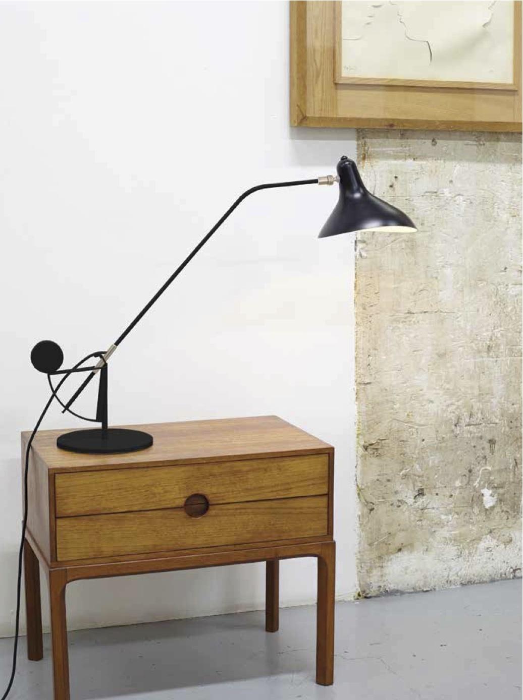 Lampe Mantis BS3 - Lampe de table - Bernard Schottlander - DCW