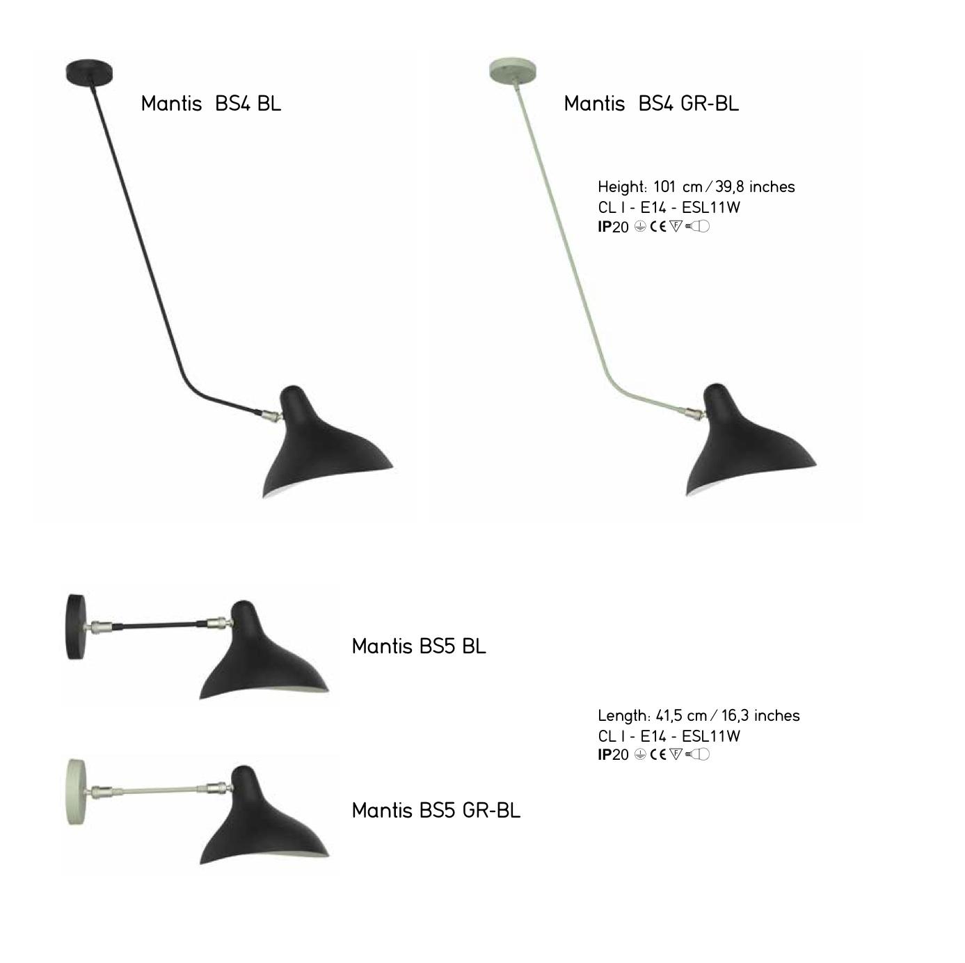 Lampe Mantis - Bernard Schottlander - DCW