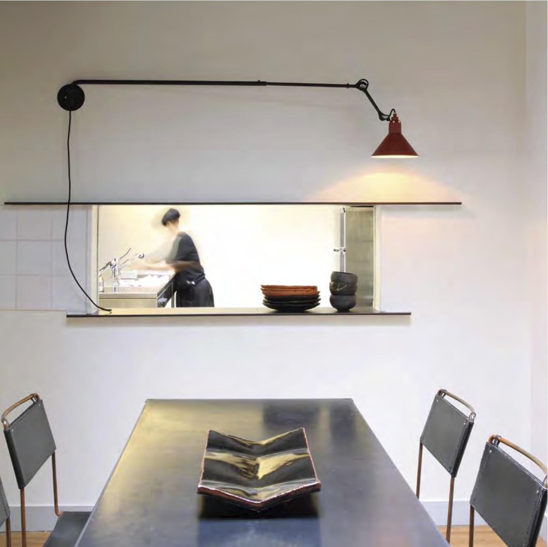 Lampe Gras - DCW - Applique atypique N* 213