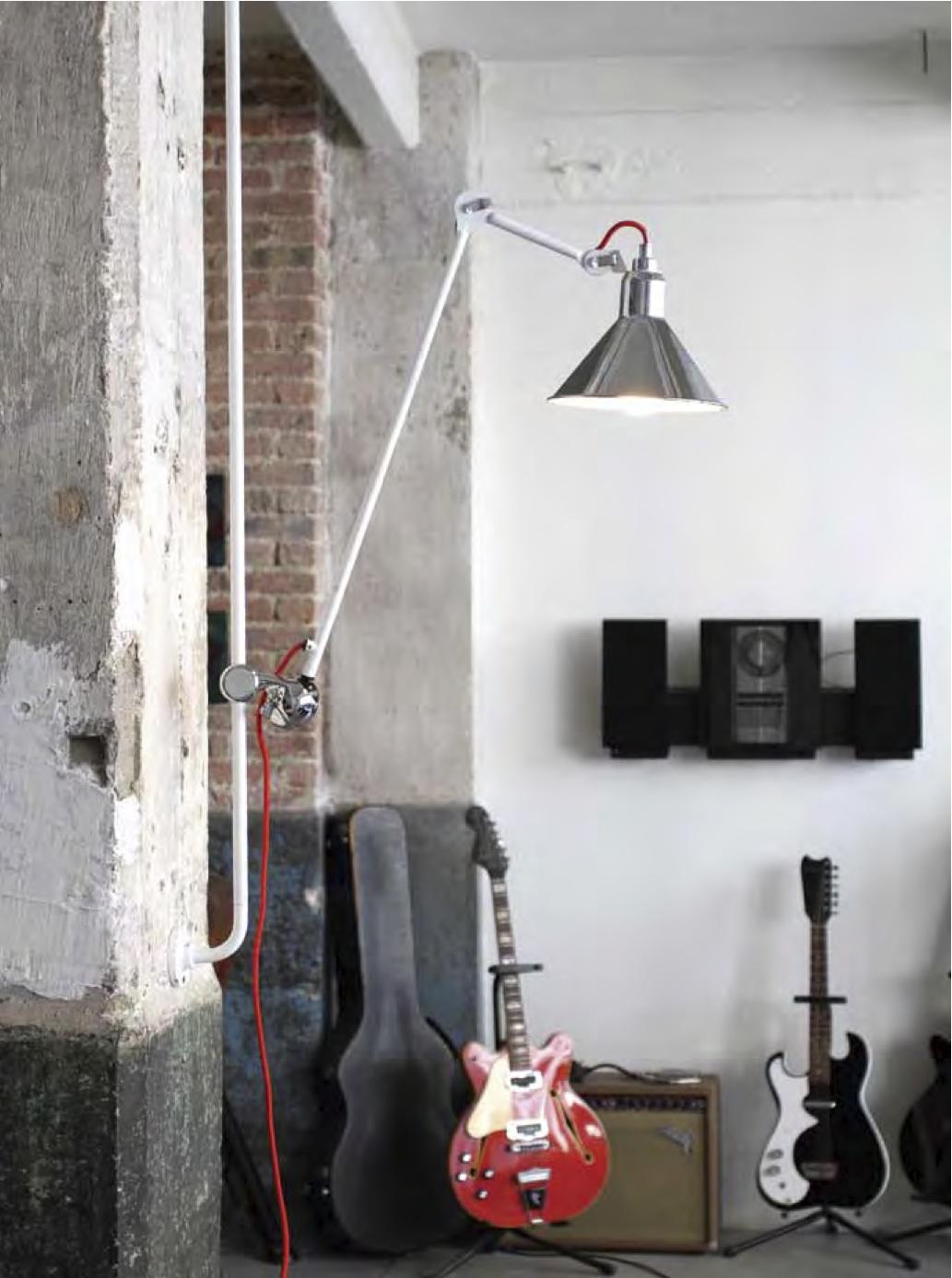 Lampe Gras - DCW - Applique atypique N* 214